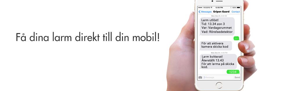 Larm till mobilen