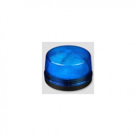 Blixtlampa blå 12V