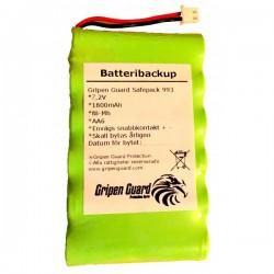 Batteribackup NiMh Gripen iSafe SST-993