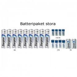 Batteripaket lithium stora
