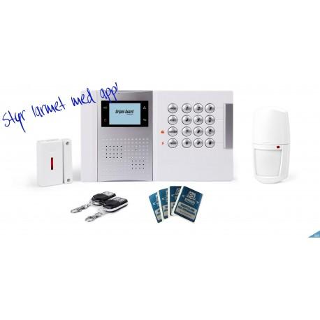 Gripen iSafe Standard kit GSM hemlarm 868mhz
